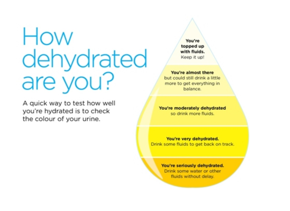 Urine hydration test - how to stay hydrated